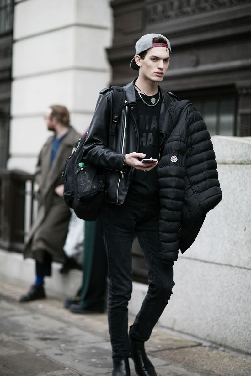 male model street style : Photo