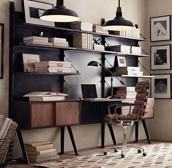 1950s modular customizable desk system house home - Studio 54 oviedo ...