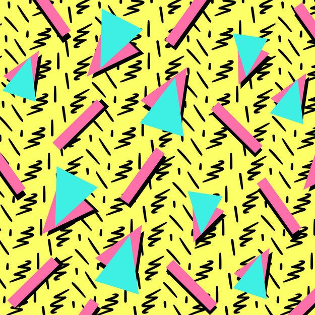 This 90 S Pattern Quiz Will Determine How Well You See Color 90s Pattern 90s Art Pop Art Patterns