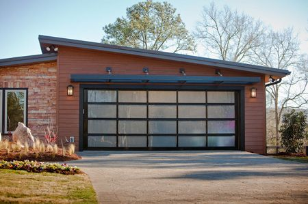 Clopay Avante Collection Aluminum And Glass Garage Door