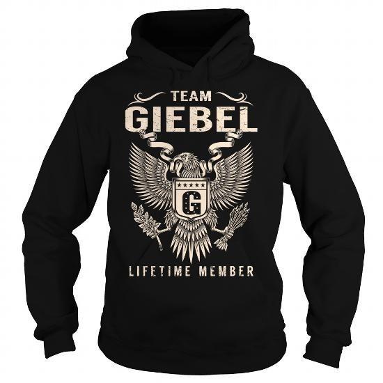 I Love Team GIEBEL Lifetime Member - Last Name, Surname T-Shirt T shirts