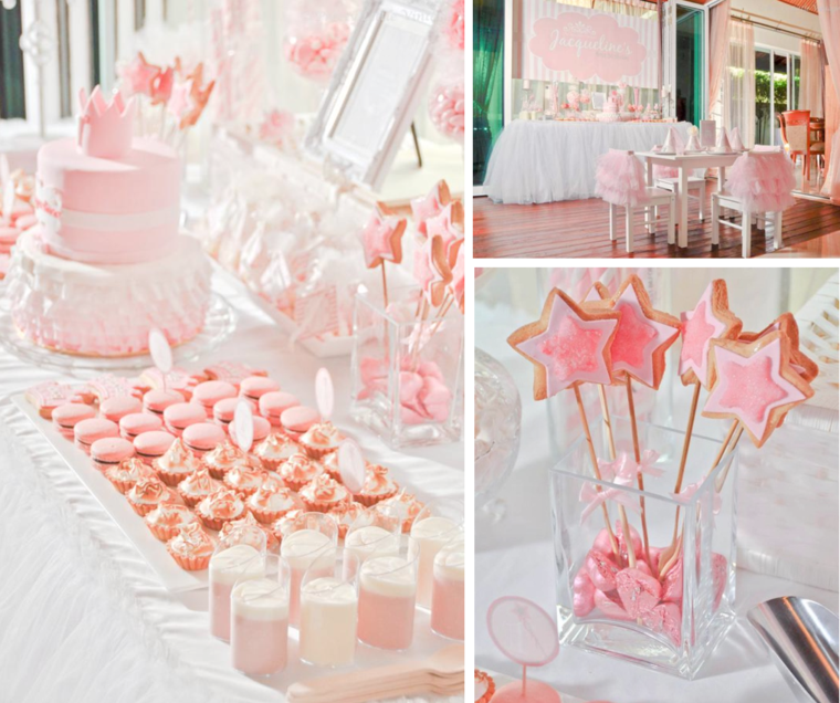 Decoration Anniversaire 1 An 50 Idees Mignonnes Princess Tea Party Ballerina Birthday Parties Birthday Party Themes