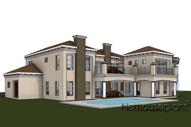 4 Bedroom House Plan South African House Designs Nethouseplans In 2020 Bedroom House Plans Architectural House Plans 4 Bedroom House Plans