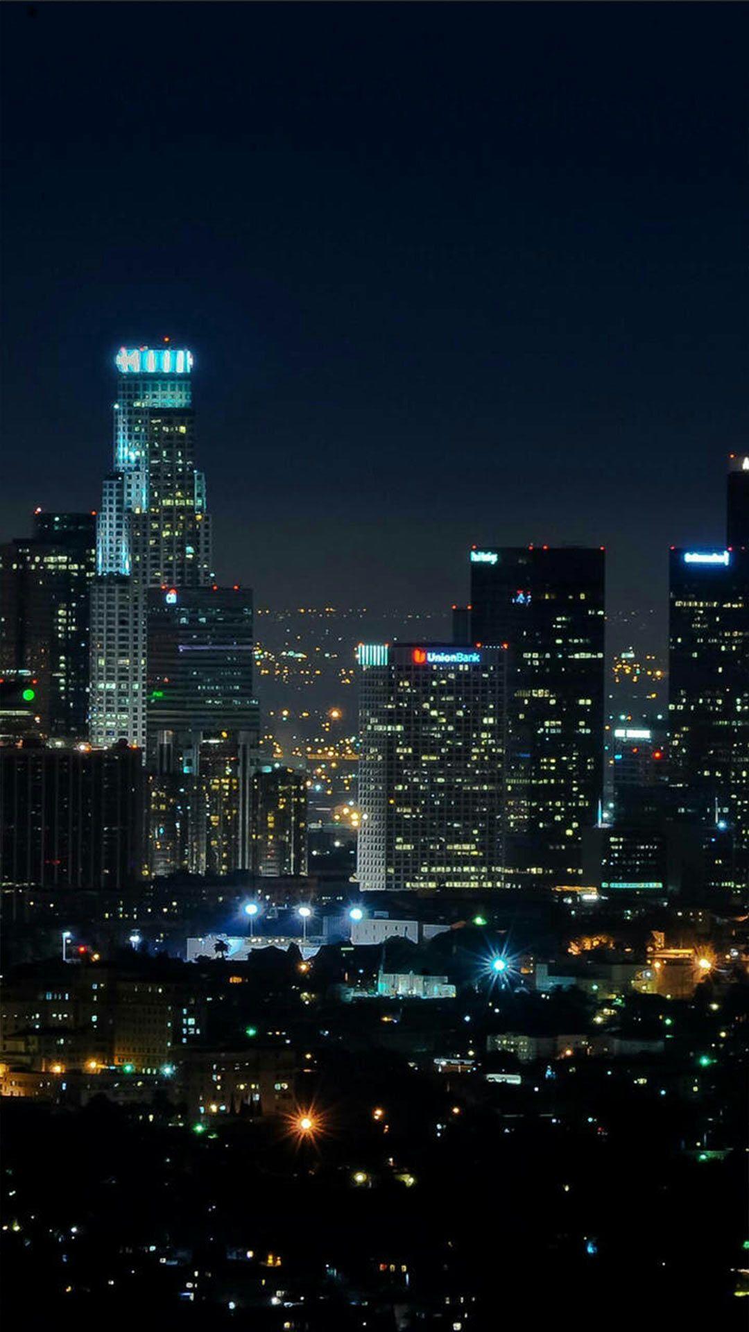 iPhone 11 Wallpaper Landscape Night City Night in 2020
