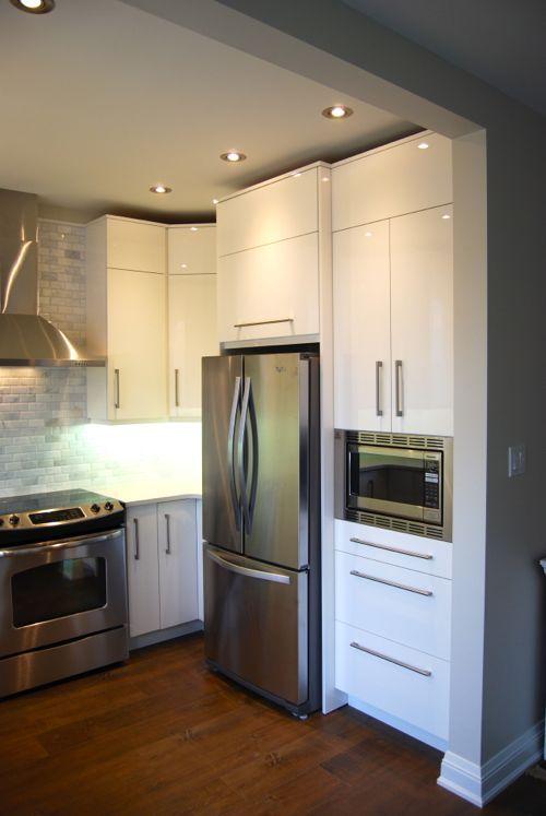 High Gloss Kitchen Cabinet Doors With Laser Edgeband Green Kitchen Cupboards Kitchen Design Diy Kitchen Design