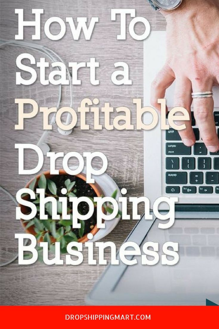How To Start A Drop Shipping Business With Little Cash | Work from ...