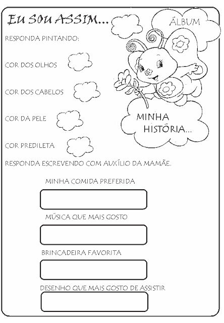 Meu Album Minha Historia 1 Religion Activities Special Education Kid