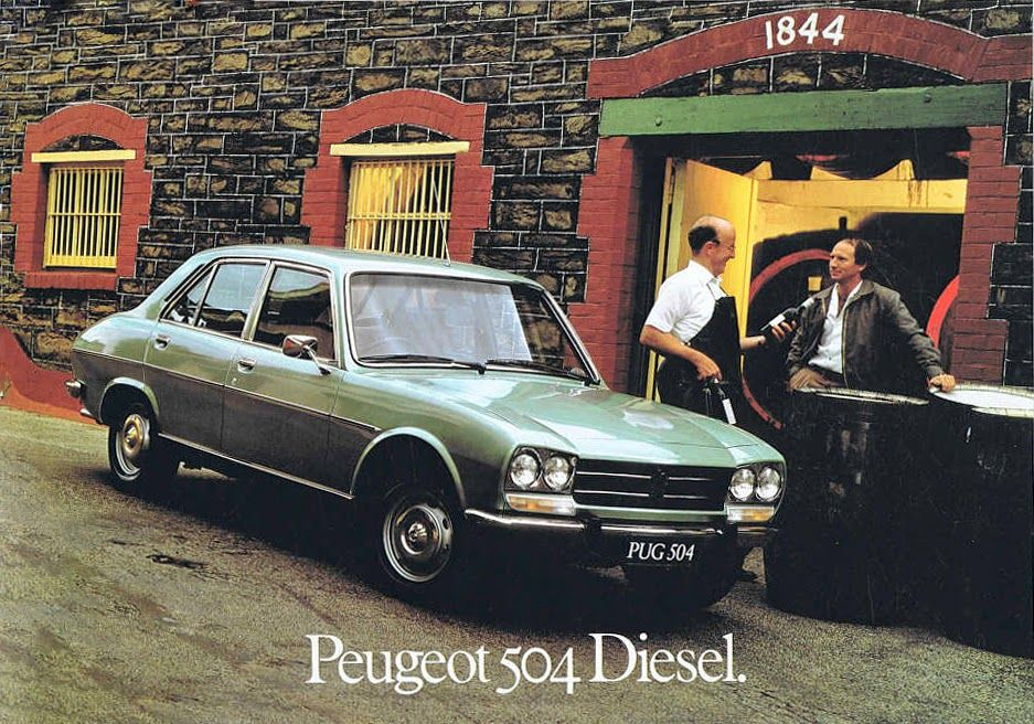 French Cars Since 1946 1981 Peugeot 504 Diesel My Other Blogs