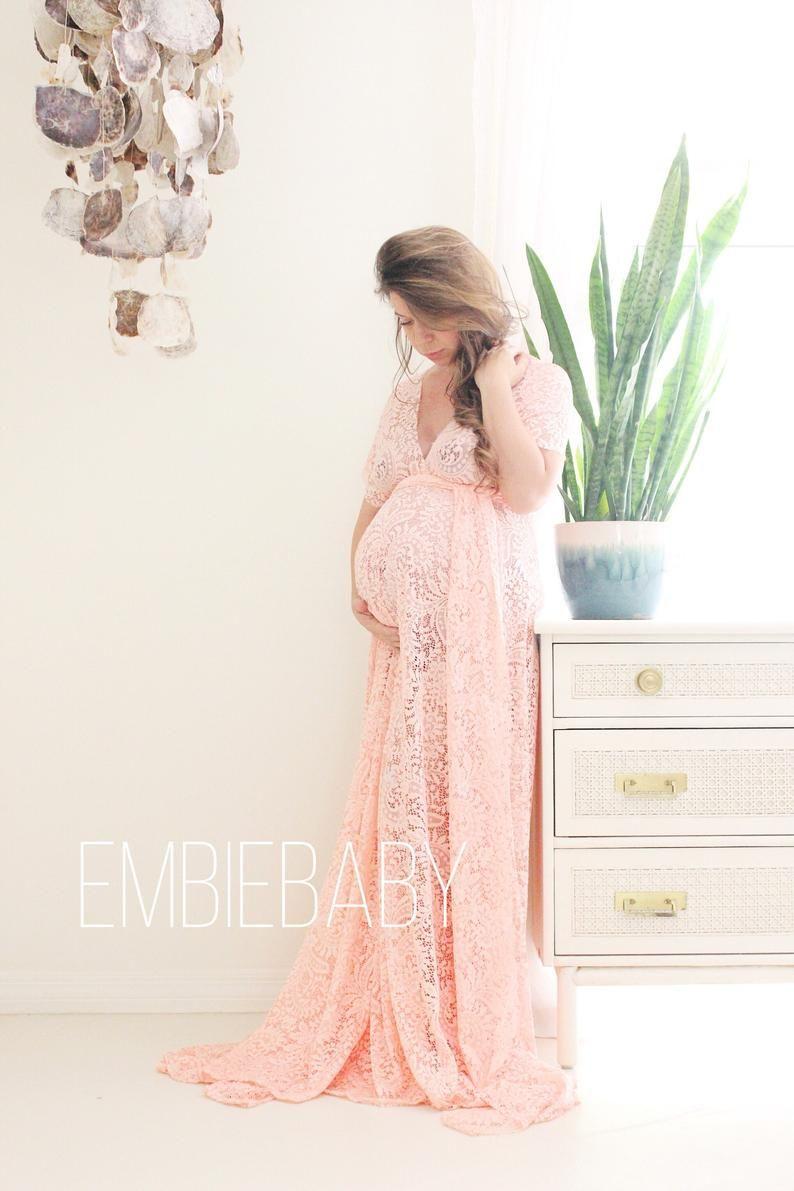 Photo of Maternity dress / photo shoot dress/ baby shower dress / maternity gown- the full wrap dress
