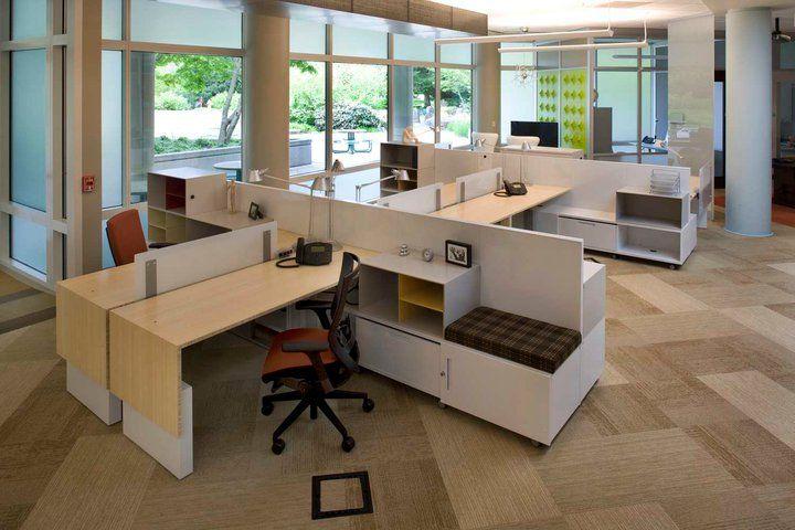 Open Office Workstation Corporate Office Design Office Interior