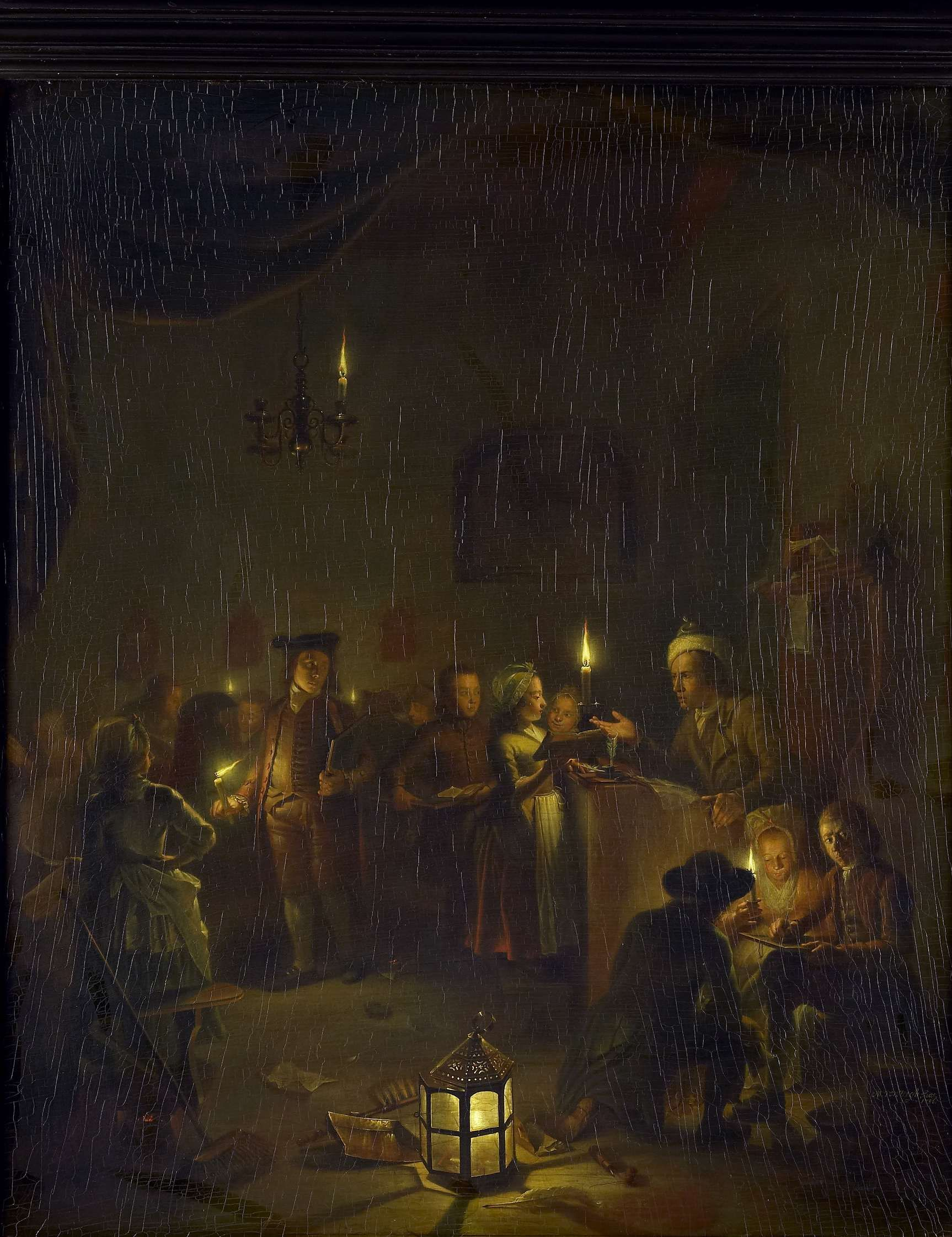 Michiel Versteegh | Evening School, Michiel Versteegh, 1786 | De ...