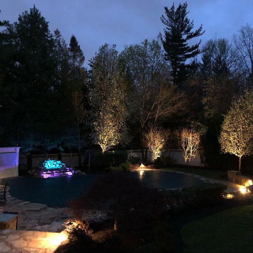 Outdoor Landscape Lighting Hardscape Path Lighting Deck