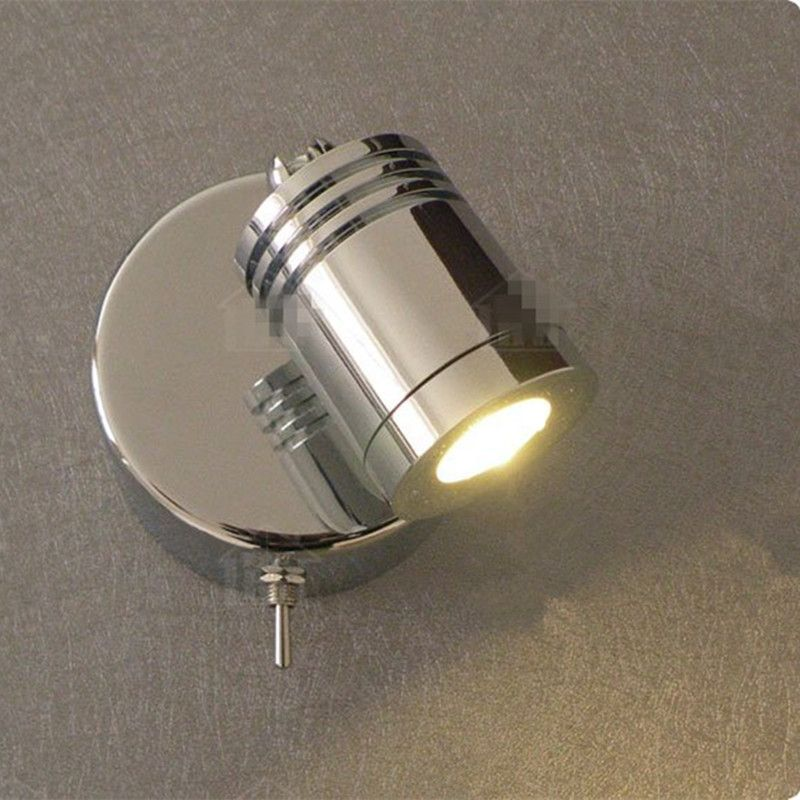 Free Shipping Wall Mounted Reading Lamps Bed Aisle Mirror Wall Paint Cabinet Lighting 3w Cree Led Ac100 240v Dc12v 2 Wall Lamp Lamp Wall Mounted Reading Lights