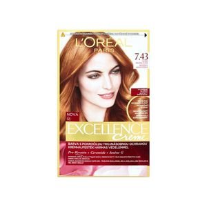 L Oreal Paris Excellence 7 43 Copper Golden Blonde Hair Dye With