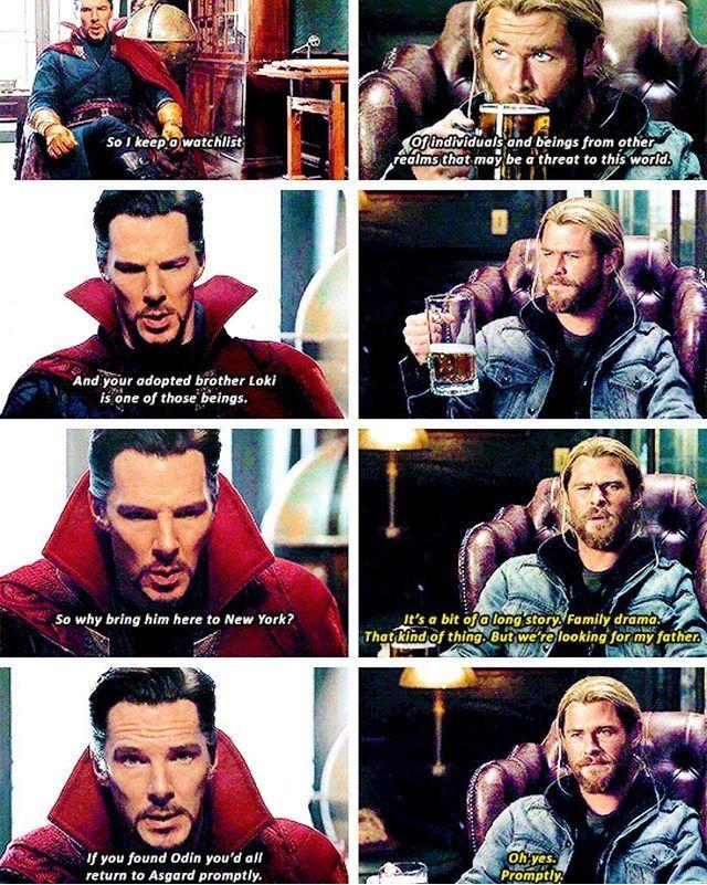 Doctor Strange & Thor | Just Marvel Things | Marvel, Marvel avengers