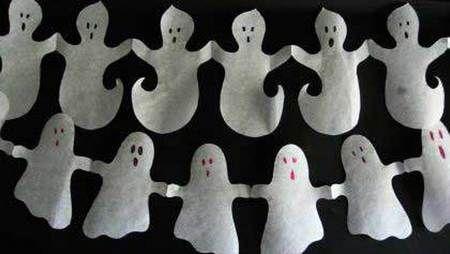 Картинки по запросу гирлянды на хэллоуин черепы и тыквы и ...