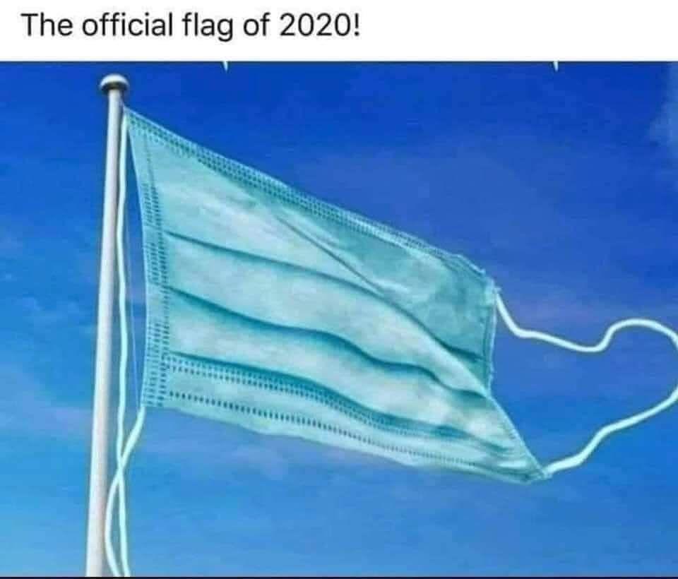 The Official Flag Of 2020https Ift Tt 32nzbzr Super Funny Memes Really Funny Memes Crazy Funny Memes