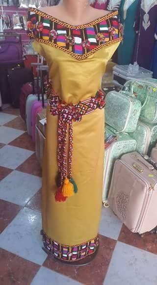 Robe kabyle moderne robe kabyle pinterest robe for Salon kabyle