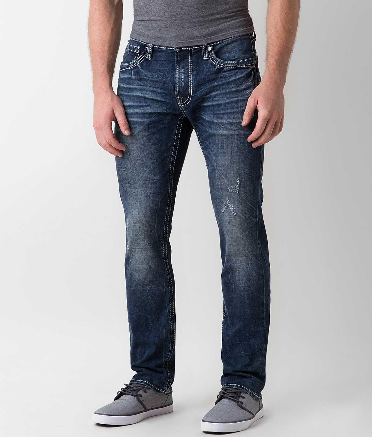 Salvage Havoc Slim Straight Jean - Men' Jeans Buckle