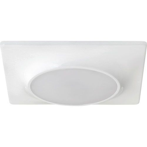 Progress lighting led retrofit trim or flushmount ceiling fixture white recessed lights recessed trims flush mount