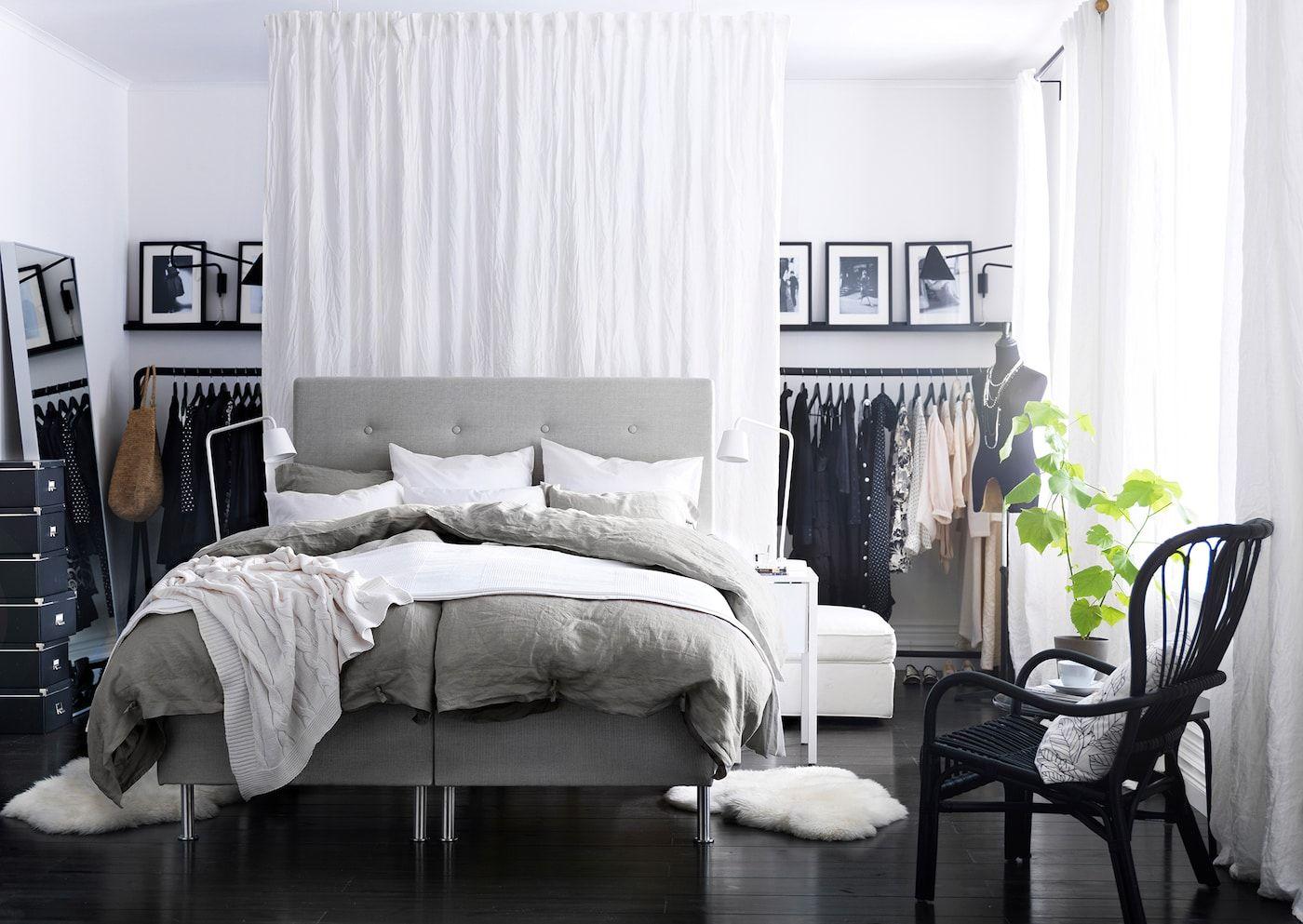 Offenen Kleiderschrank selber bauen Weiße zimmer