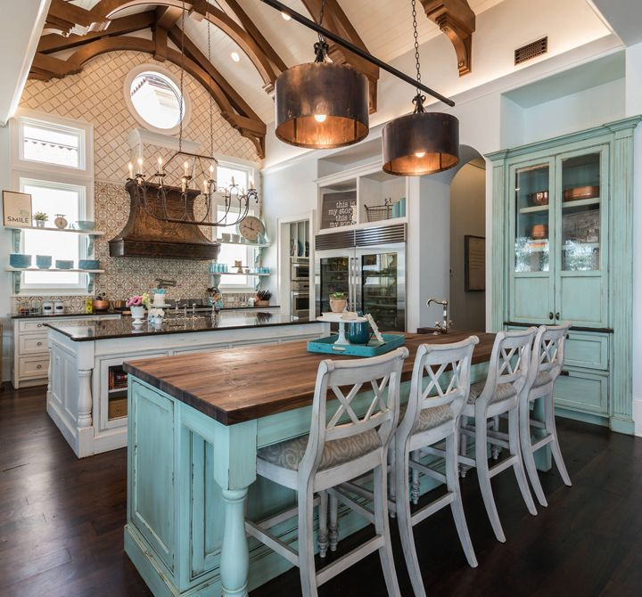 wood copper kitchen accent design | Image result for rooms with turquoise accents | Home decor ...