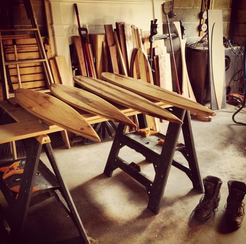 Handmade Reclaimed Longboards Made In Maine Instagram