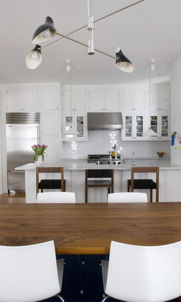 Renovated kitchen in Brooklyn Heights