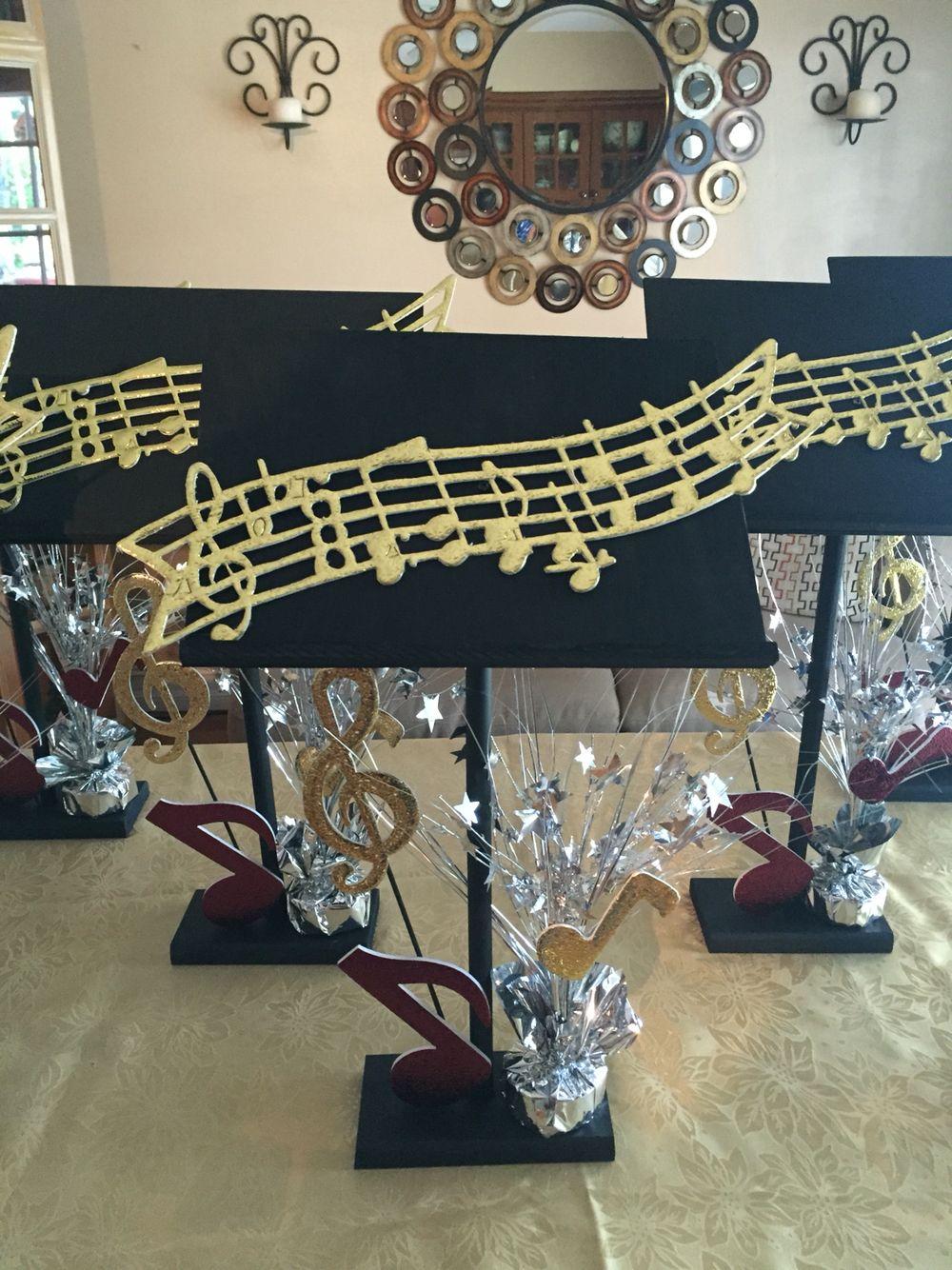 Music Centerpieces Pinteres