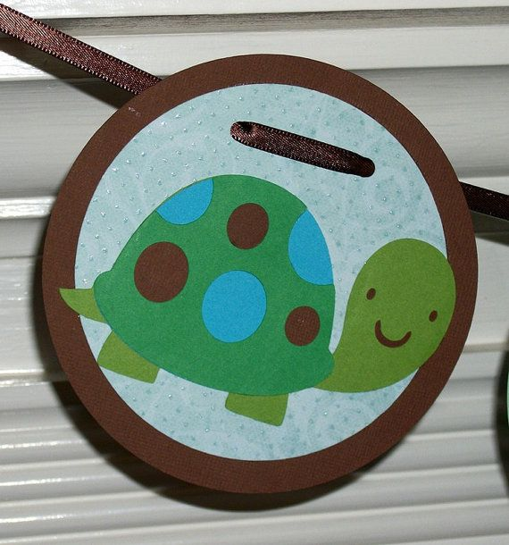 Turtle Banner for Baby Shower or Birthday  by APaperPlayground, $11.00