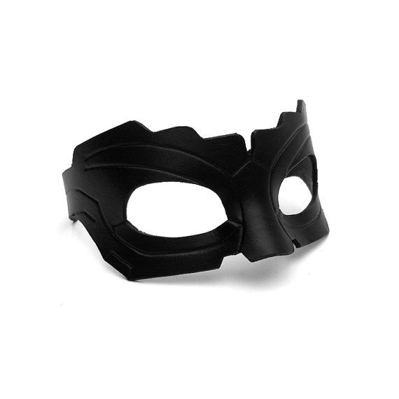 Catwoman Leather Mask Black The Dark Knight Rises Anne Hathaway ...