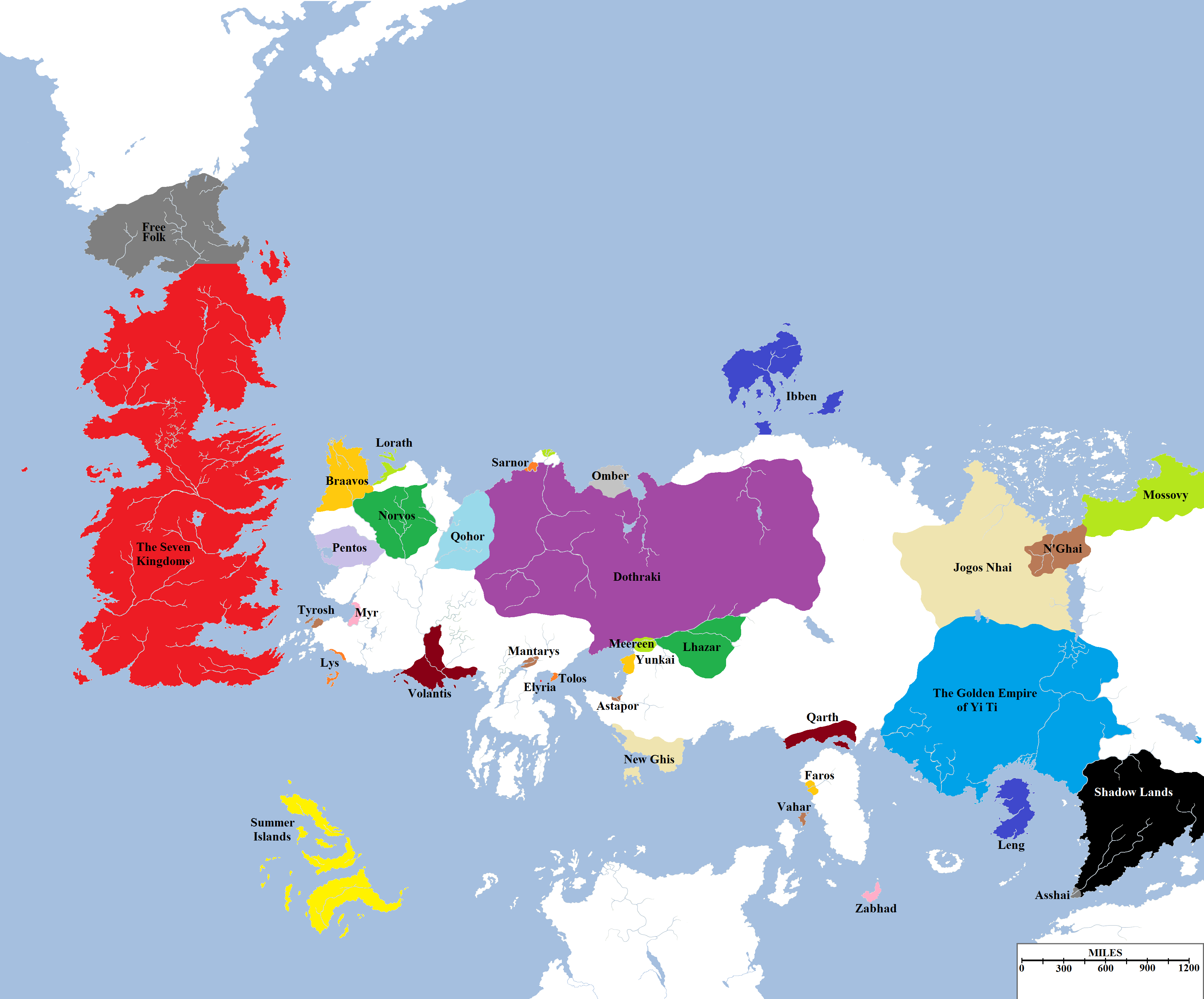 A political map of the known world gaming jon snow and songs a political map of the known world gumiabroncs Gallery