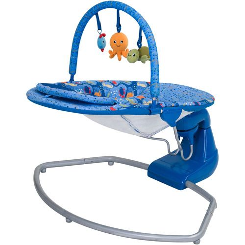 Baby Trend Swing Bouncer Coral Reef Bouncer