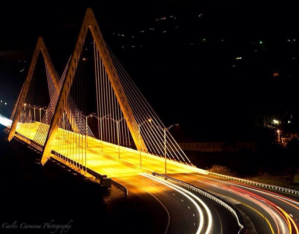 Puente Atirantado. Naranjito, Puerto Rico