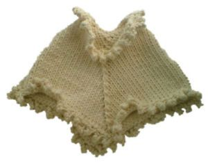 Knitting Pure and Simple #243 Children's Poncho Kit - Baby and