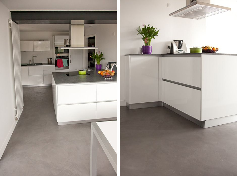 sol-beton-cire-nantes | Cuisine | Pinterest | Extensions and House