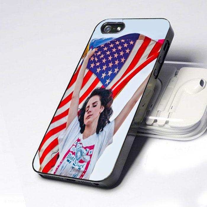Lana Del Rey American Flag iphone 4/4s case