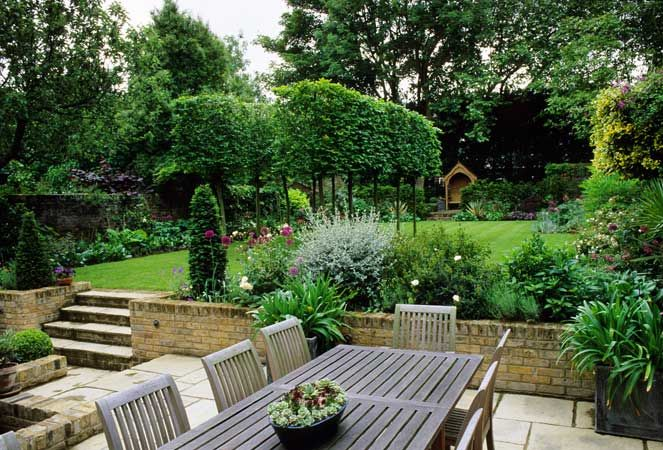 large garden design ideas large formal garden by judith sharpe garden designs gallery photography by harpur garden images