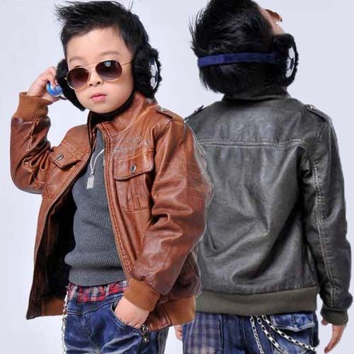 Children Leather Jacket Winter Coat Boys Outerwear Boy Outerwear Boys Winter Coats Kids Jacket