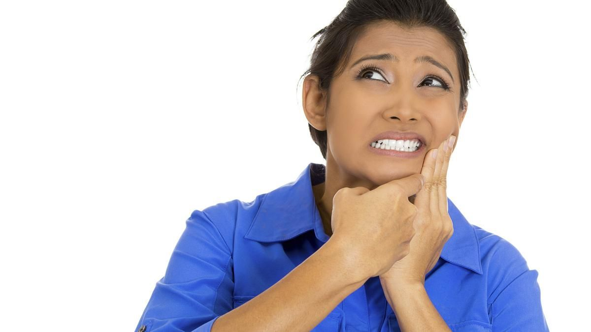 A toothache is a pain in or around a tooth that may be caused by
