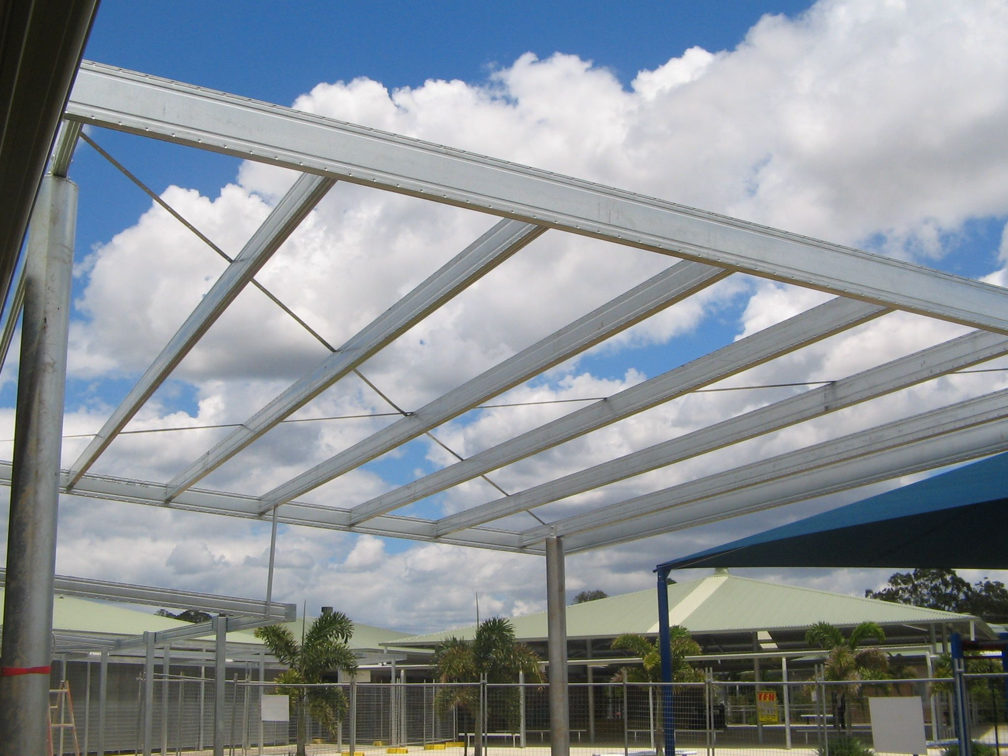 Skillion Roof Using Boxspan Steel Beams Skillion Roof Steel Beams Roof Framing