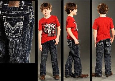 b50f20a9d Boys Rock & Roll Cowboy V Pocket Dark Wash Jeans | AA Callisters ...
