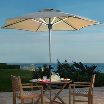 Solar Lights For Patio Umbrellas Delectable Solar Lights For Patio Umbrellas  Furniture Ideas  Pinterest Decorating Design