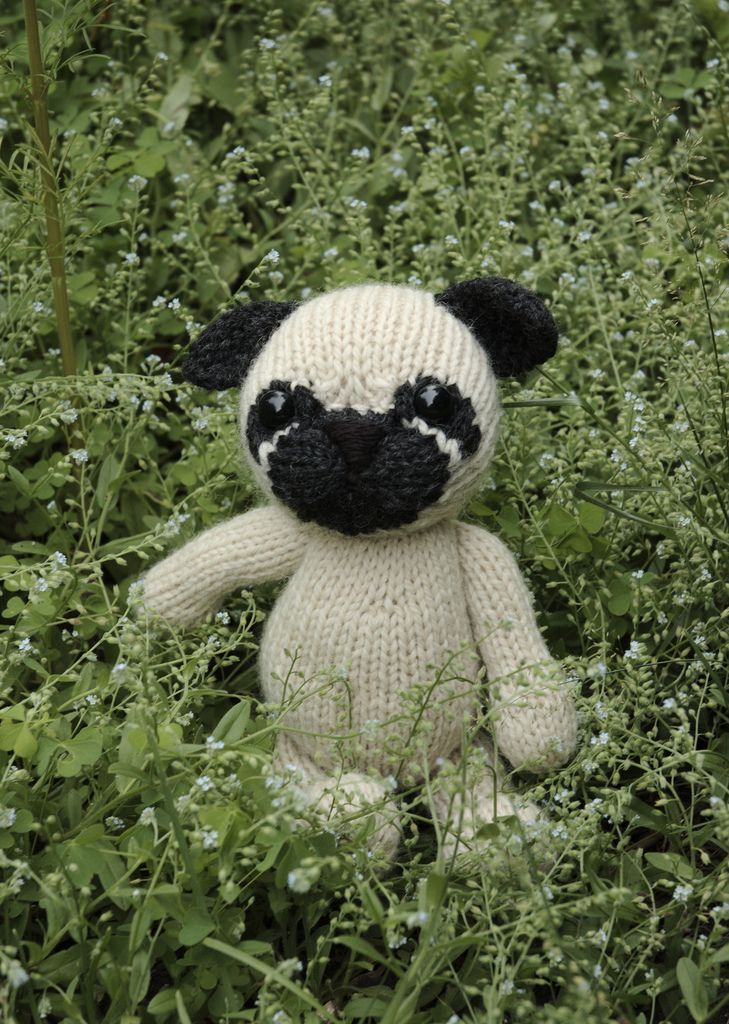 pug | Pattern library, Ravelry and Toy