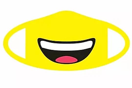 Smiling Emoji Face Mask Jubilee Gift Shop In 2020 Emoji Faces Face Mask Emoji
