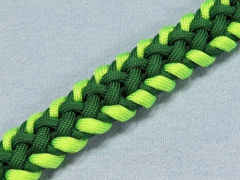 How to make a (TIAT's) Samadhi Sinnet Paracord Bracelet Tutorial (Paracord 101) - YouTube