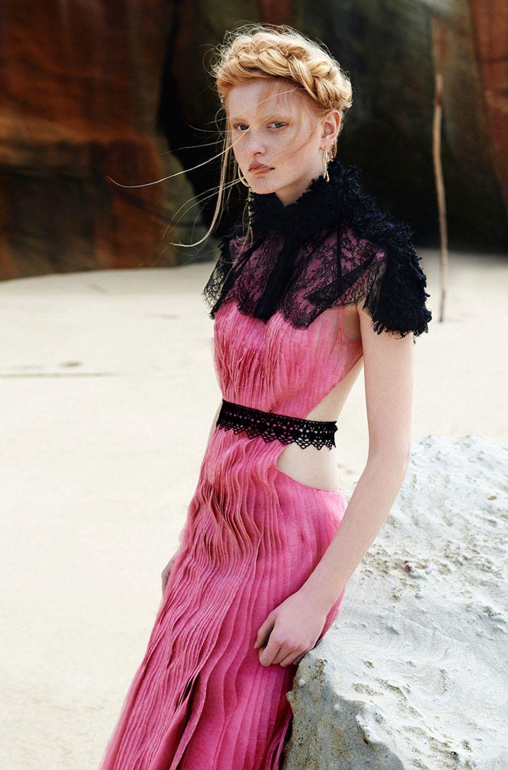 Klaudyna by Marcin Kempski for Harper\'s Bazaar Poland   Rosas ...