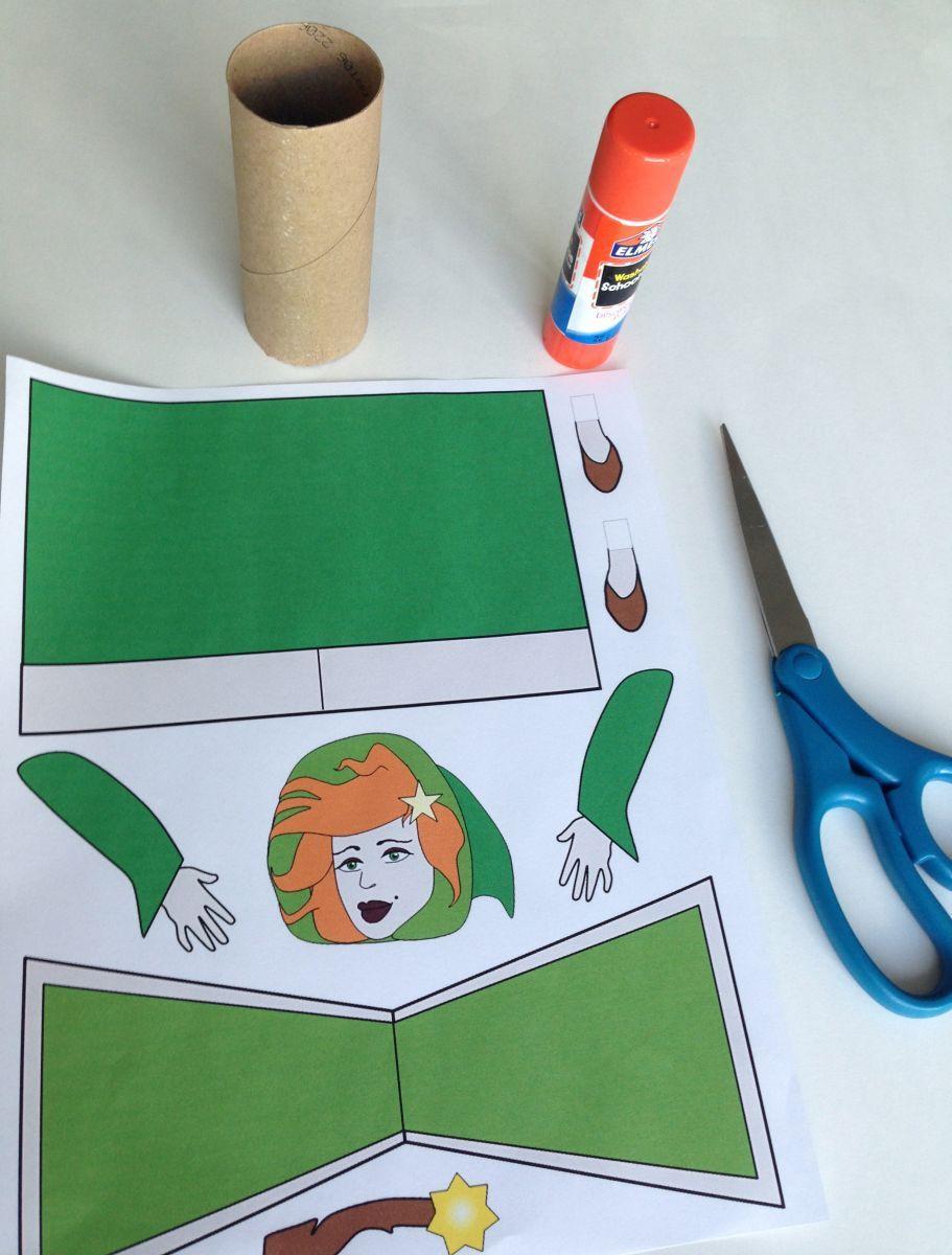 Oficina Virtual: Crianças fazendo arte pelo mundo! Druida Irlandesa. Aprenda a fazer uma atividade para o Halloween inspirada nas historias da Irlanda.