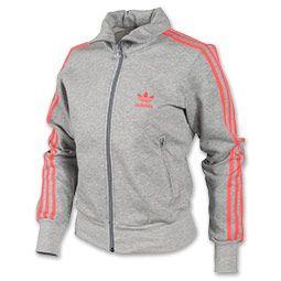 Le adidas originali firebird traccia giacca grey / red bambini