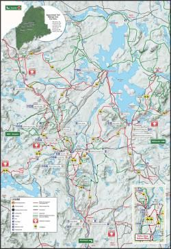the forks maine map Best Places To Snowmobile The Forks Maine Snowmobile Snow the forks maine map